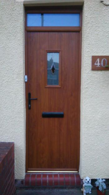 Oak Composite Front Door in Stoke-on-Trent | Aspect Windows